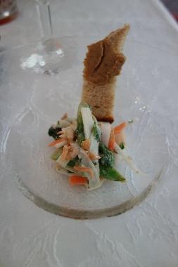 ウドのサラダ