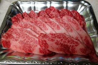 焼く前のお肉です。