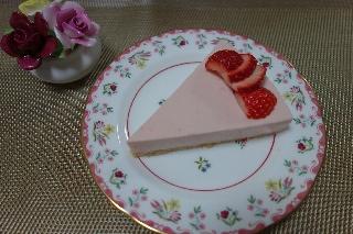 ストロベリーチーズケーキ0303