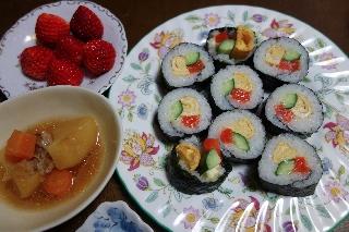 サーモン寿司0405