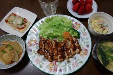 夕飯130409