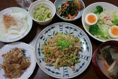 夕飯130410