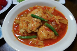 チキンとキャベツのトマト煮0416