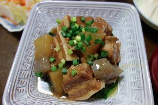 豚バラと大根の煮物0422