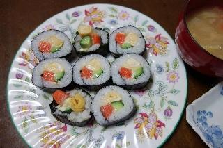 サーモン寿司0428