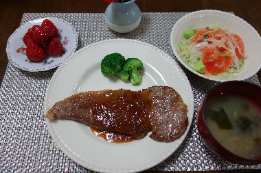 夕飯130512