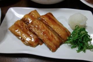 秋刀魚の蒲焼き0515