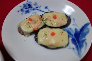 なすの明太チーズ焼き0523