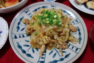 豚と白菜のオイスター炒め0523