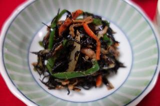 ひじきのベーコン炒め0529