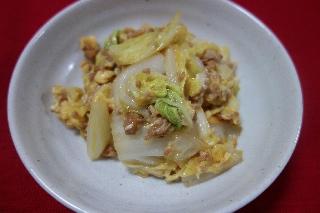 白菜とひき肉0605