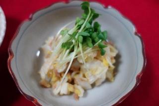 白菜とツナのサラダ0624
