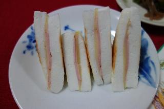 はんぺんのハムチーズ焼き