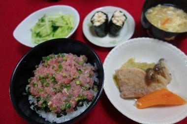 ネギトロ丼0701