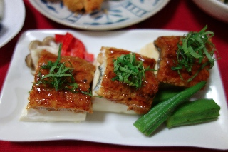 うなぎの豆腐蒸し0721