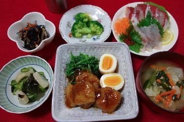 夕飯130801