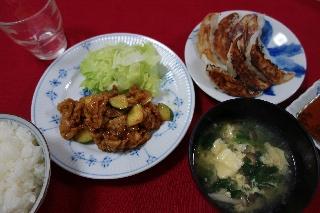 夕飯130810