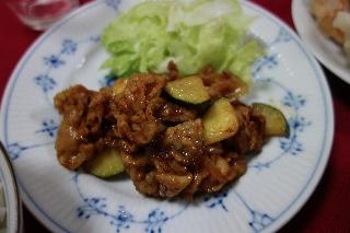 豚肉のバーベキュー炒め0810