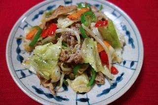 野菜炒め0802