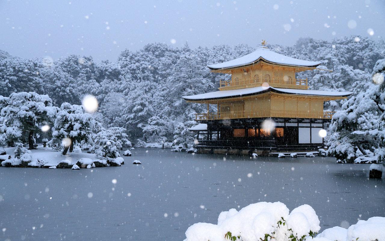 金閣寺 冬1