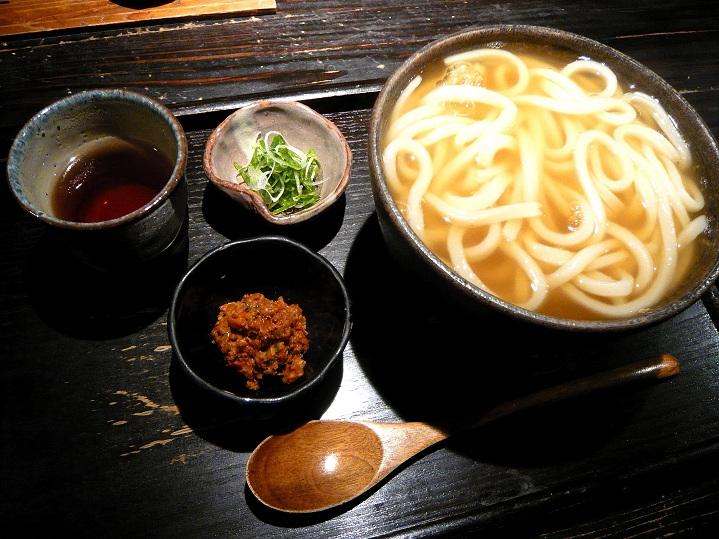 山元麺蔵辛味噌うどん1