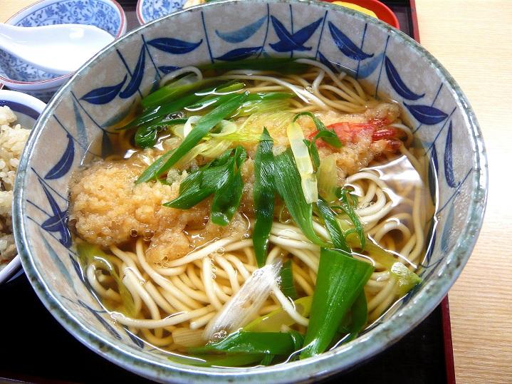 きたはた食堂天ぷら中華1