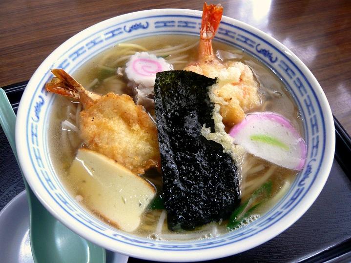 泉佐野天ぷら中華1