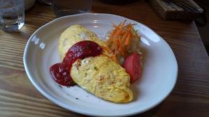 地鶏入りオムライス@Local dining cafe CORIPPO