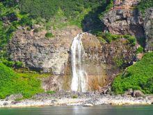 中学受験社会のブログ-カムイワッカの滝