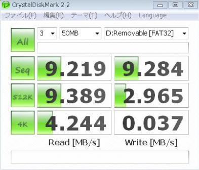 SanDisk Extreme3 20MB133baisoku class6 4G
