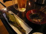 川魚と蕎麦