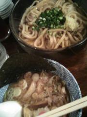 つけ麺(釜玉麺)