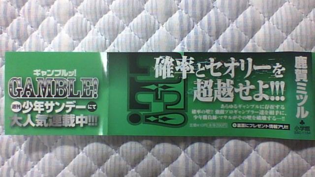 ギャンブルッ! 2巻 帯A