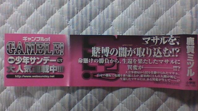 ギャンブル 8巻 帯A