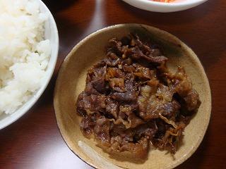 牛肉しぐれ煮