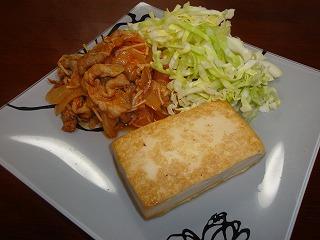 100311豆腐ステーキ②