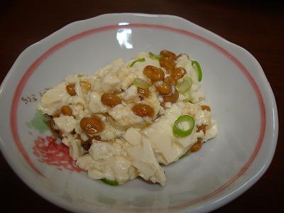 100509豆腐納豆