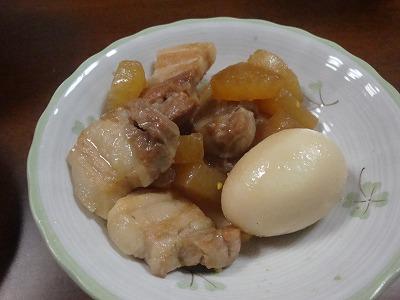 101028豚バラ肉と大根の煮物