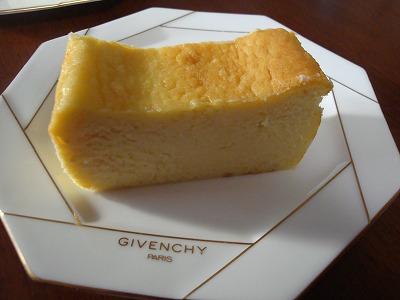 101123サツマイモのチーズケーキ③