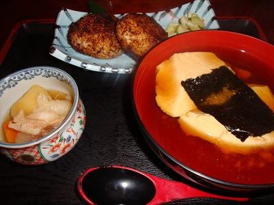 100916おぼろ豆腐