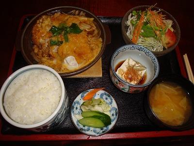 100916煮カツ定食