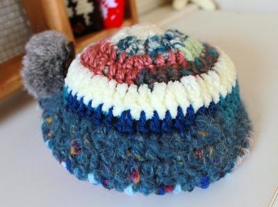 変わり糸帽 (3)