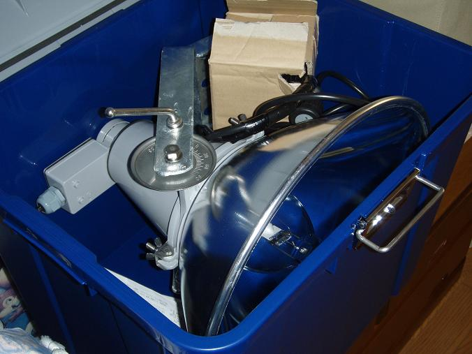 ライトトラップ機材収納BOX