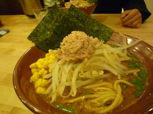 武蔵小杉の味噌ラーメン2