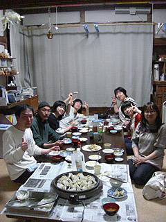 10 5/4 餃子パーティー