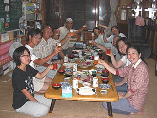 10 7/2 開宿 乾杯!