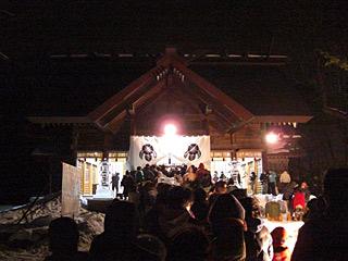 2011 1/1 初詣 神社