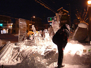 11 1/14 氷祭り製作