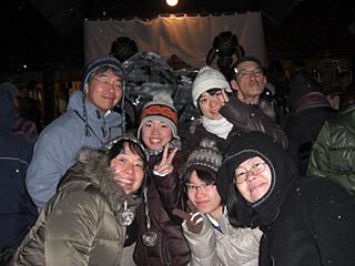 2011 1/1 初詣 集合