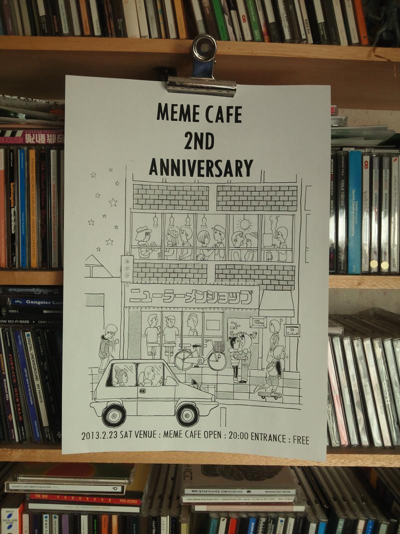 meme cafe anniversary